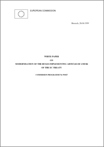White Paper on Modernisation of the Rules Implementing Articles 85 and ...