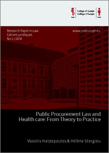 empirical essays on procurement and regulation