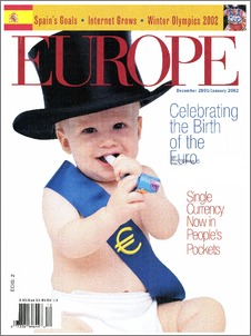celebrating the birth of the euro europe magazine of the. Black Bedroom Furniture Sets. Home Design Ideas