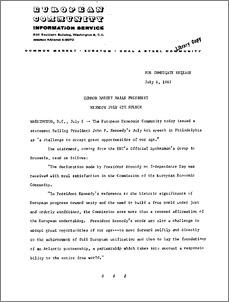 6 july 1962