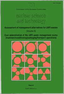 Assessment of management alternatives for LWR wastes  Cost