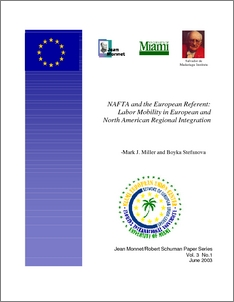 regional economic integration and nafta essay Concerning regional economic integration the influence of the european model on (southern) african thinking is discernible in at least two areas: political and institutional.