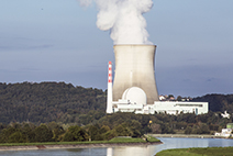 Photograph of a nuclear powerplant in Germany